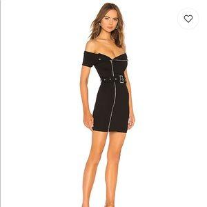 Revolve Superdown Black Dress